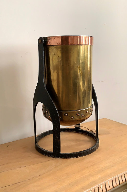 Copper, Iron and Brass champagne bucket
