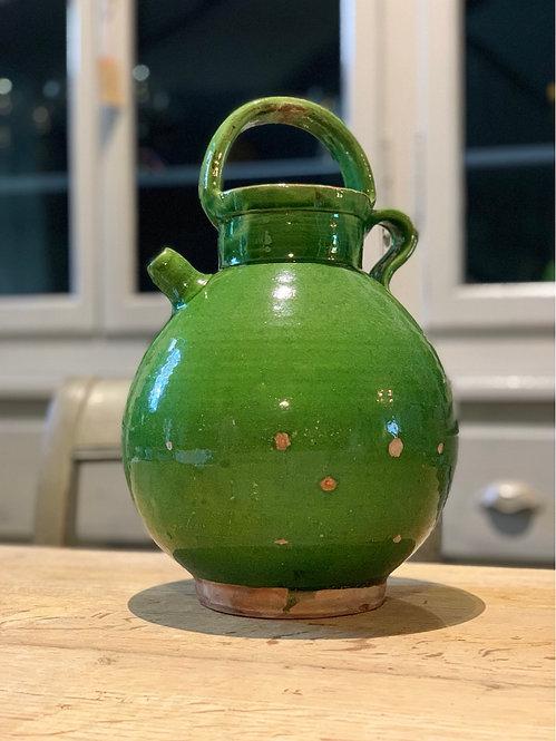 Antique Green Glaze Water Jug