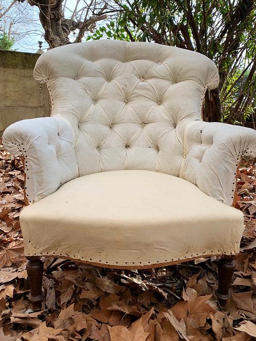 Curved Napoleon Armchair