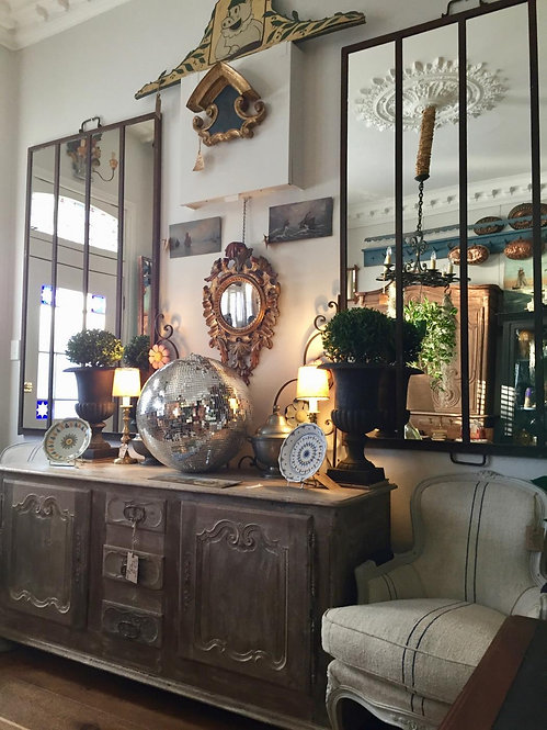 Reclaimed Greenhouse Mirrors
