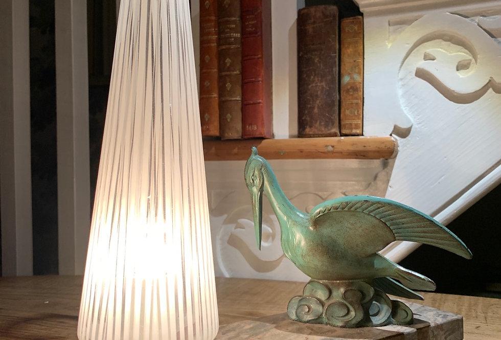 Vintage Brass Pelican Lamp