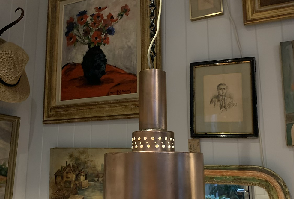 Copper Chefs light
