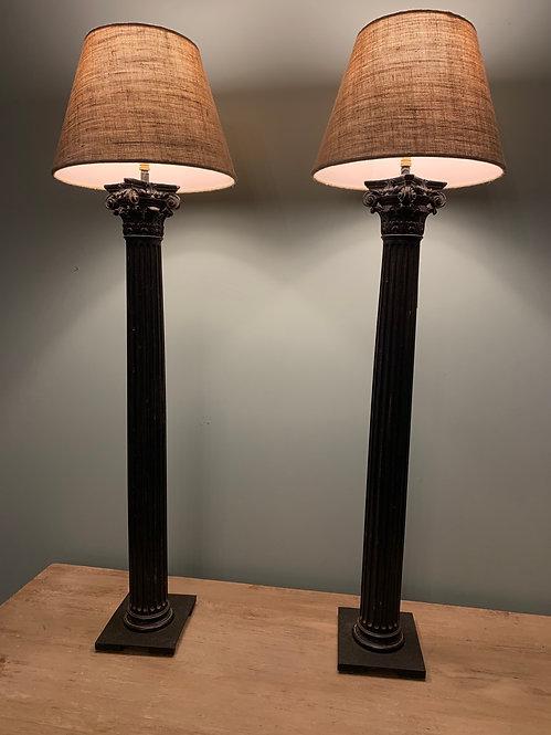 Ionic column Lamps