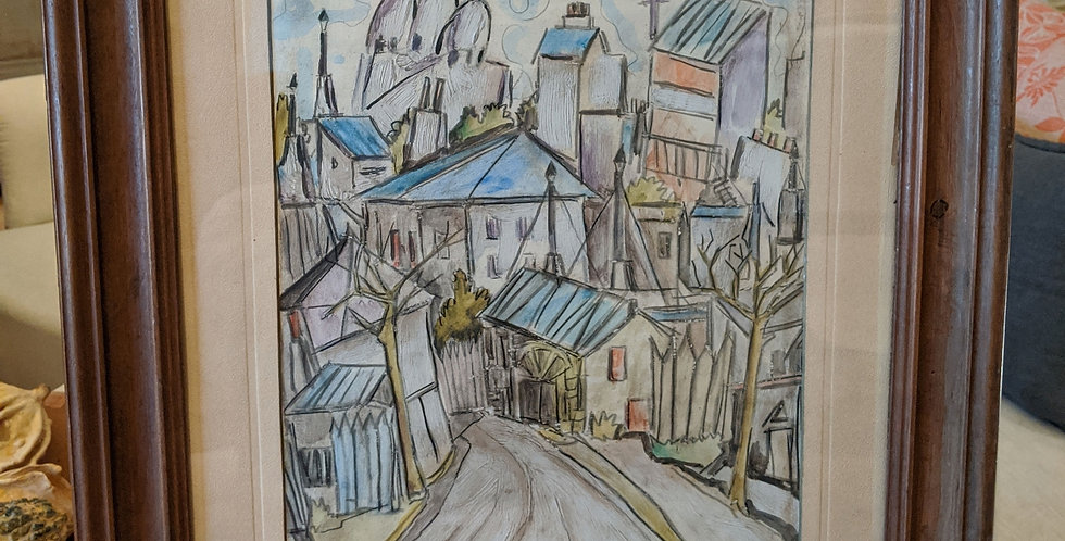 Montmatre Water Colour