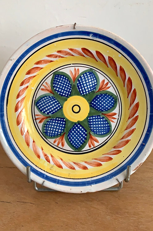 19th Century Hand Painted Plate