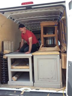 Arranging the Van is a challenge
