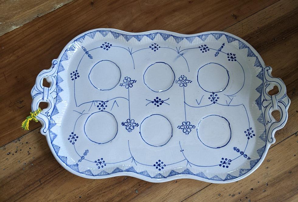 Sarreguemines Serving Plate