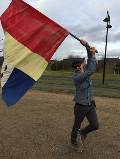 Flying the French Flag-Gayley!