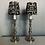 Thumbnail: Pair electrified Brass candelabra
