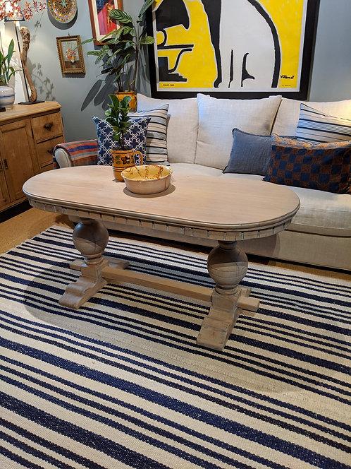 Limed Oak Double Corbel Coffee Table