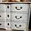 Thumbnail: Double barrel fronted commode