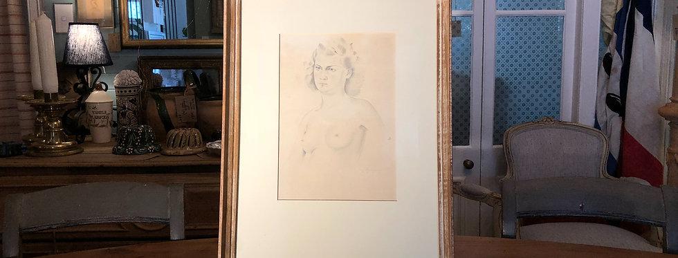 Female Nude Sketch 1942