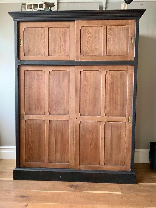 Oak Panelled Wardrobe