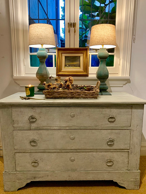 Provincial Painted Commode