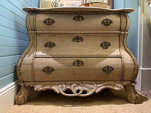 Bleached Dutch Chest of 3 Drawers