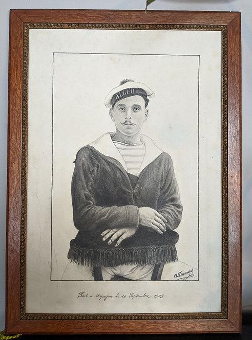 French Sailor Portrait