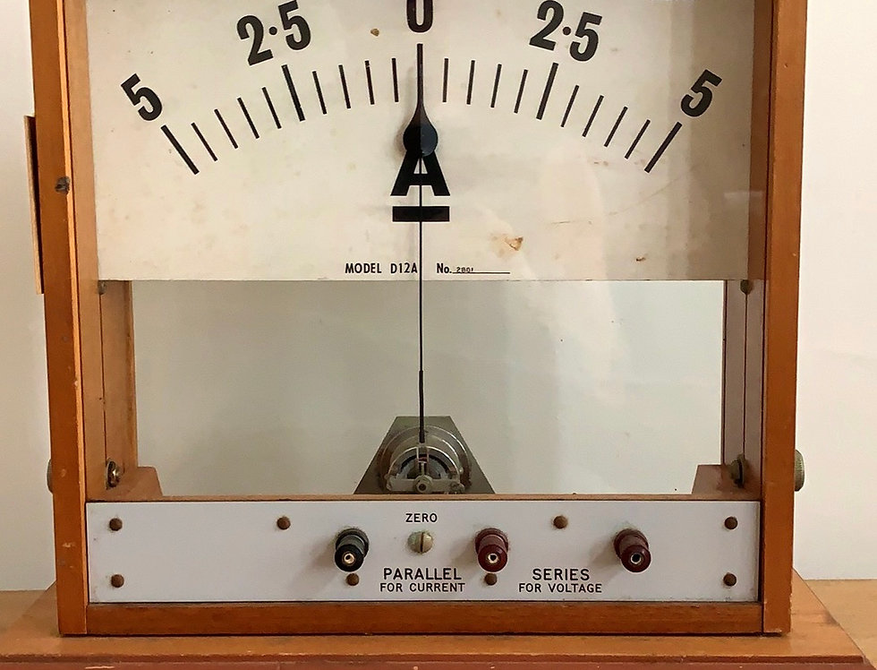 Demonstration Amp Meter