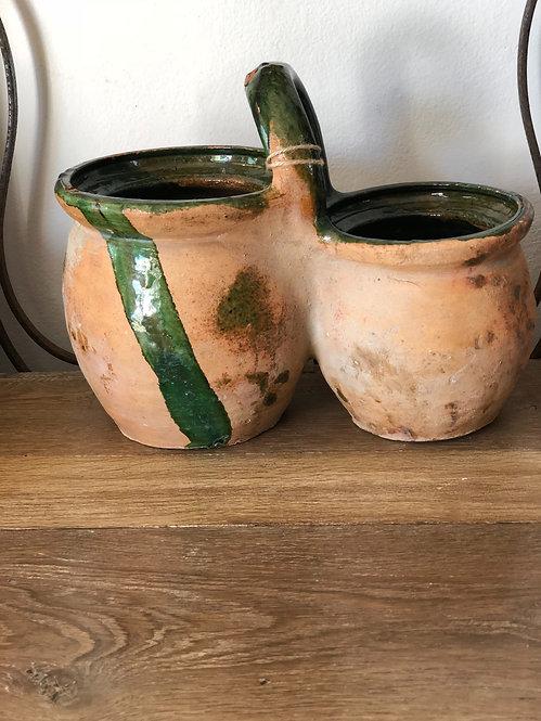 Double Confit pot with Handle