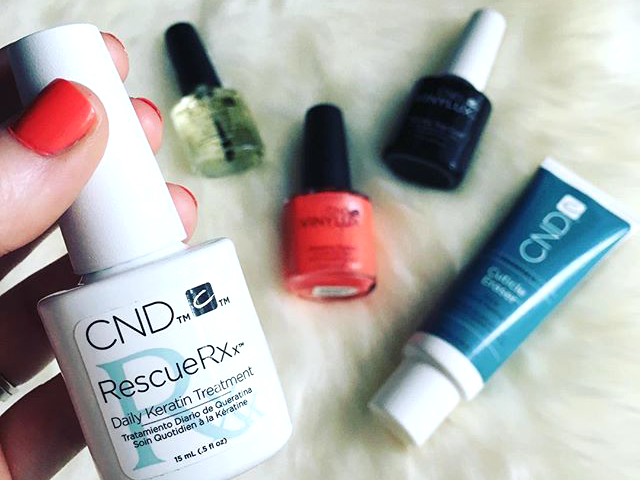 rescue your nails with cnd (giveaway)