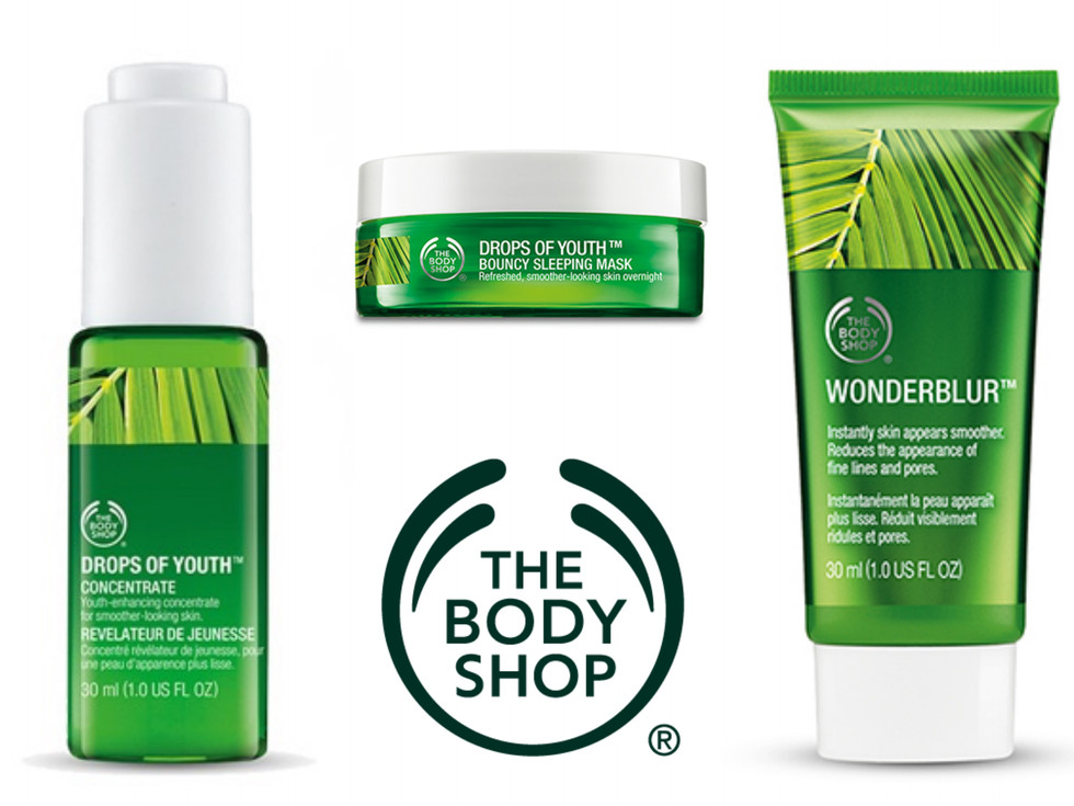 youthful skin by the body shop