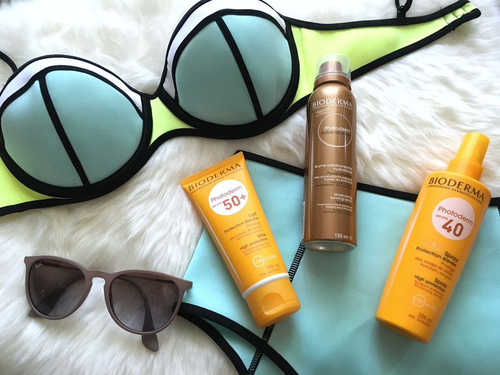 summer skin with bioderma (giveaway)