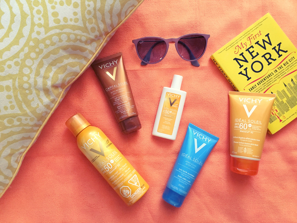 summer skin & sun with vichy (giveaway)