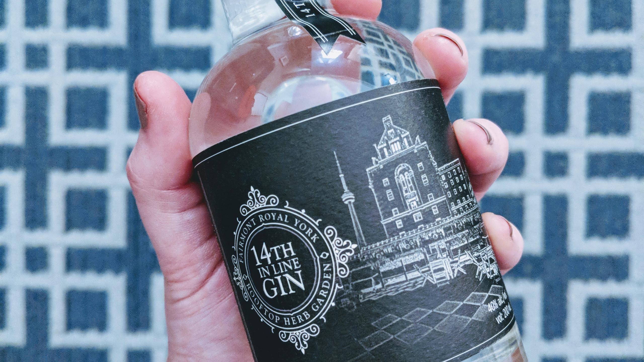 Royal York x Dillon's custom gin!