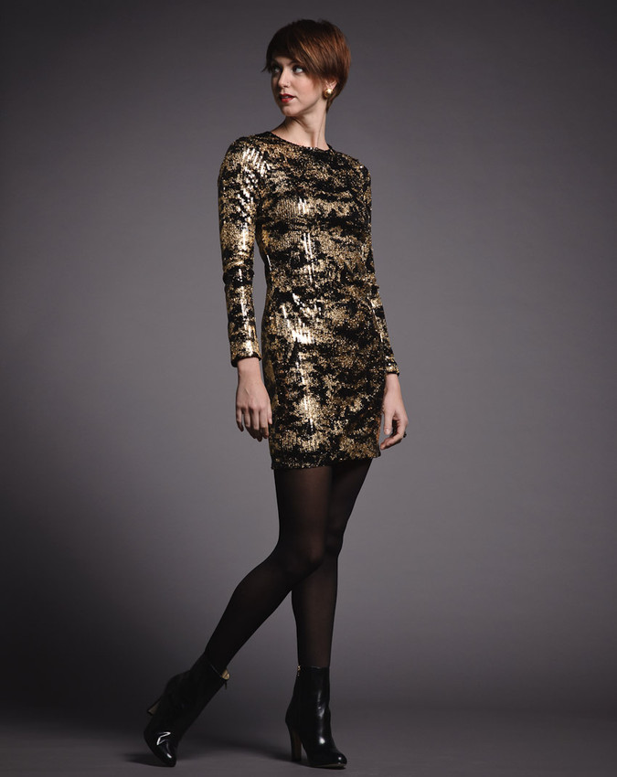 Adam Metallic Dress
