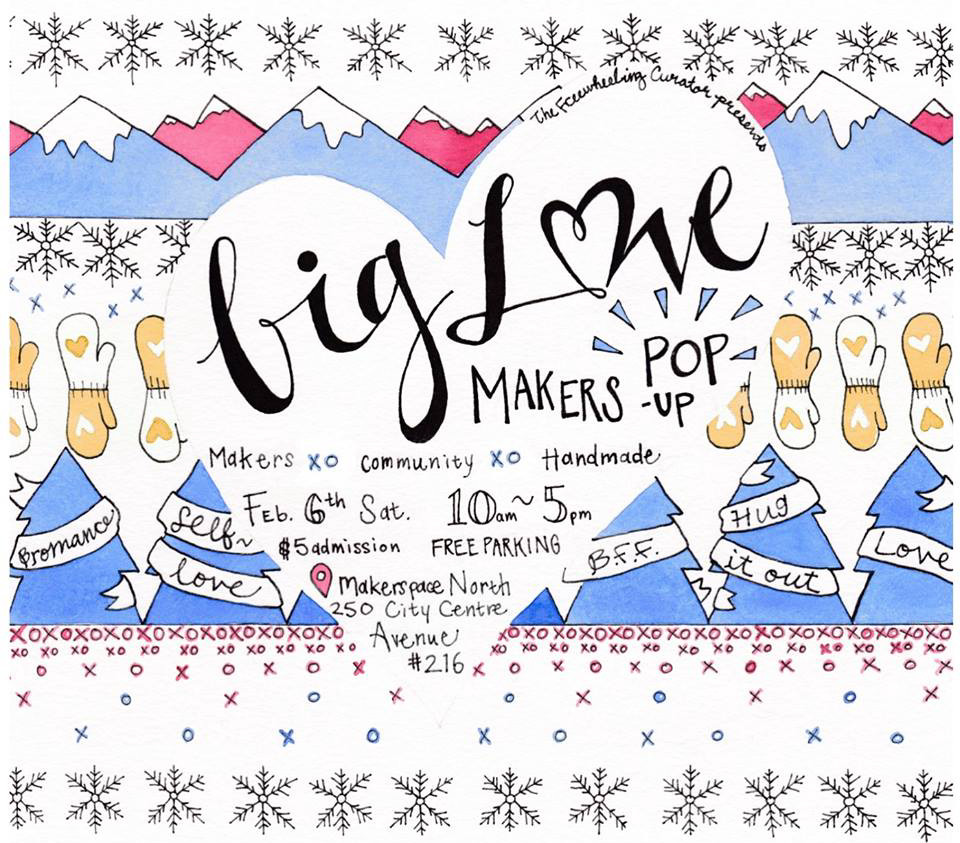 hug it out at the big love makers pop-up