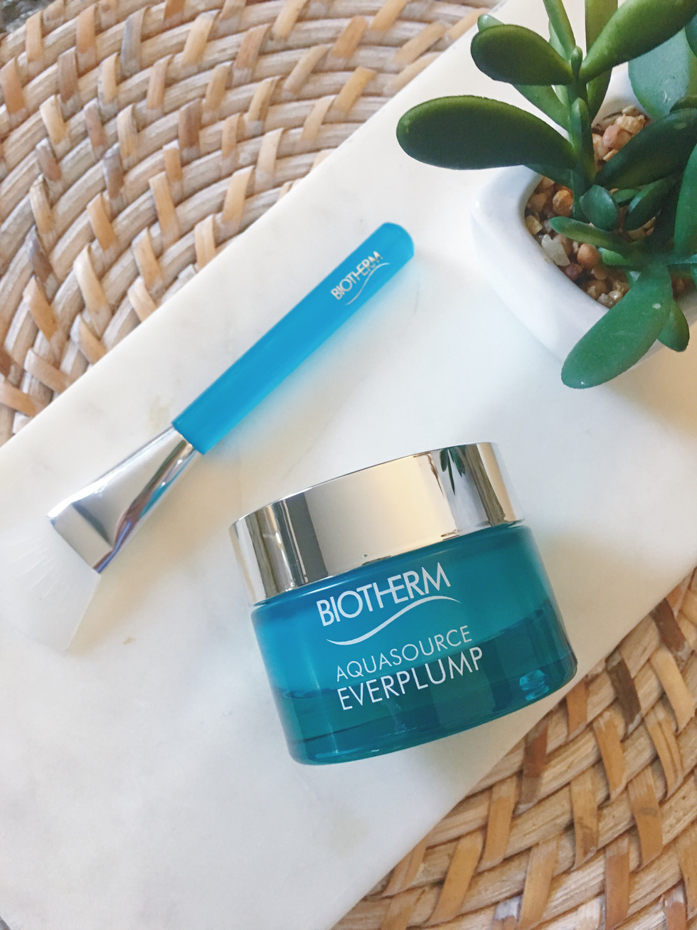 drench your skin in biotherm