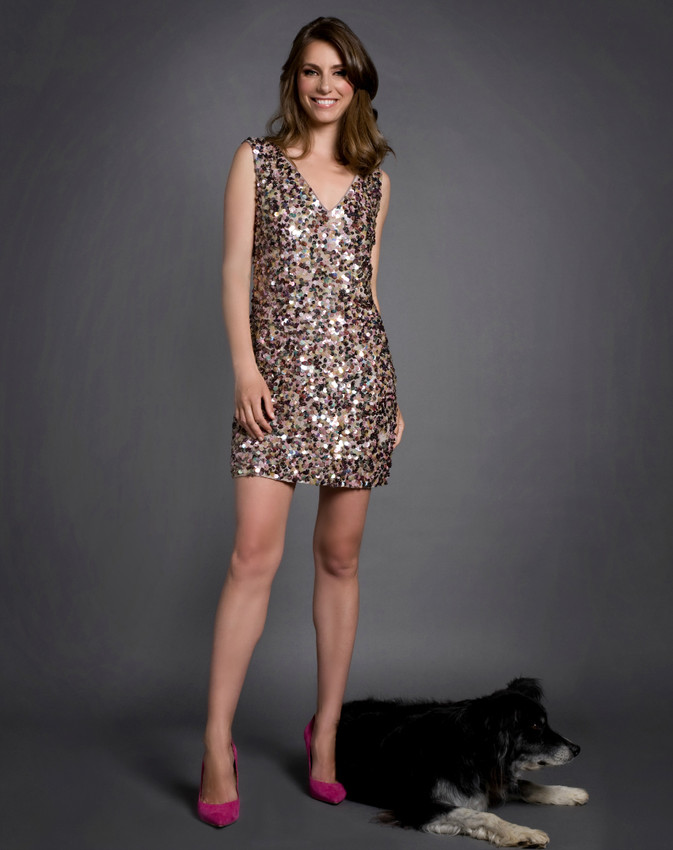 ABS Sequin Dress