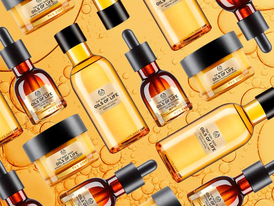 oils of life: affordable luxury at the body shop