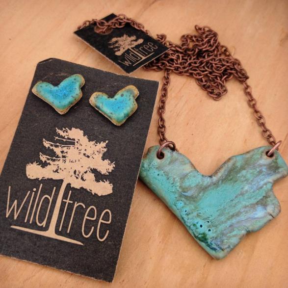 Handcrafted Wildtree jewellery
