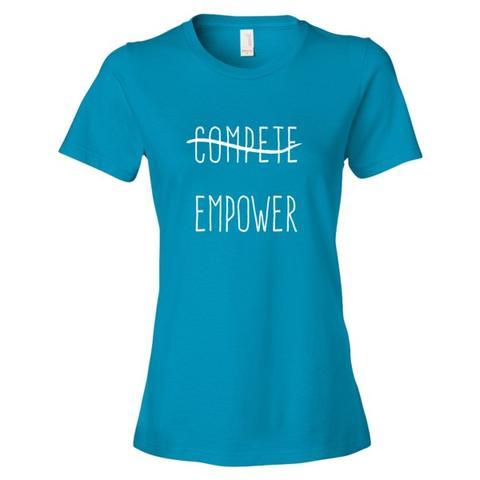 Altruist Compete Empower tee