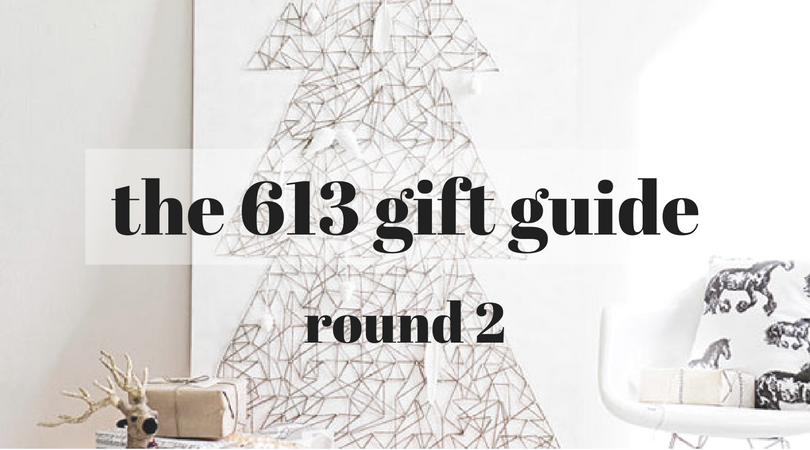 more 613 under the tree: 2016 edition (giveaway)
