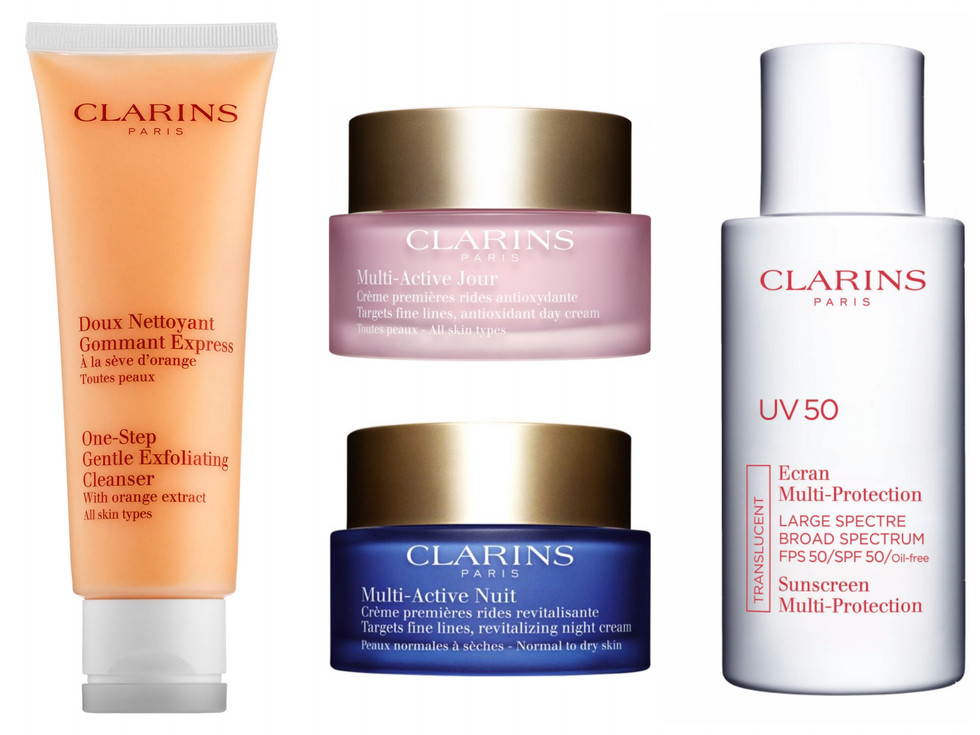 get glowing with clarins (giveaway)