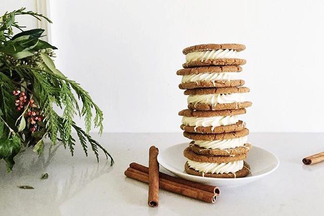 amy's eggnog & gingerbread cookies (recipe)