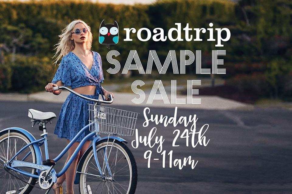 road trip sample sale! (giveaway)