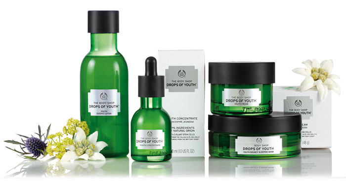 get great skin at the body shop