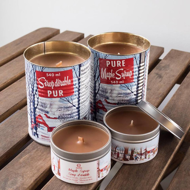 Maple candles