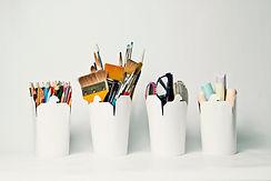 Contenitori di stoccaggio per l'arte e l