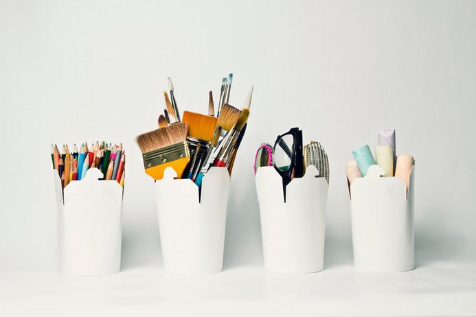 Les conteneurs de stockage pour l'art et