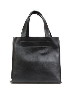 Женская сумка тоут Ofta  Аrco черная мини
