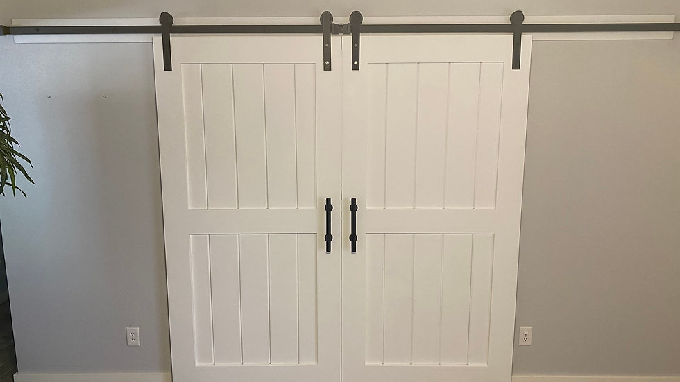 Custom Barn Doors- Start at 35.00 a sq ft installed
