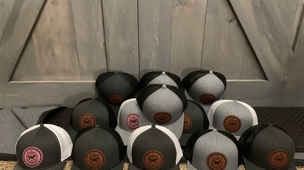 THF WoodWork Hats - Leather patch