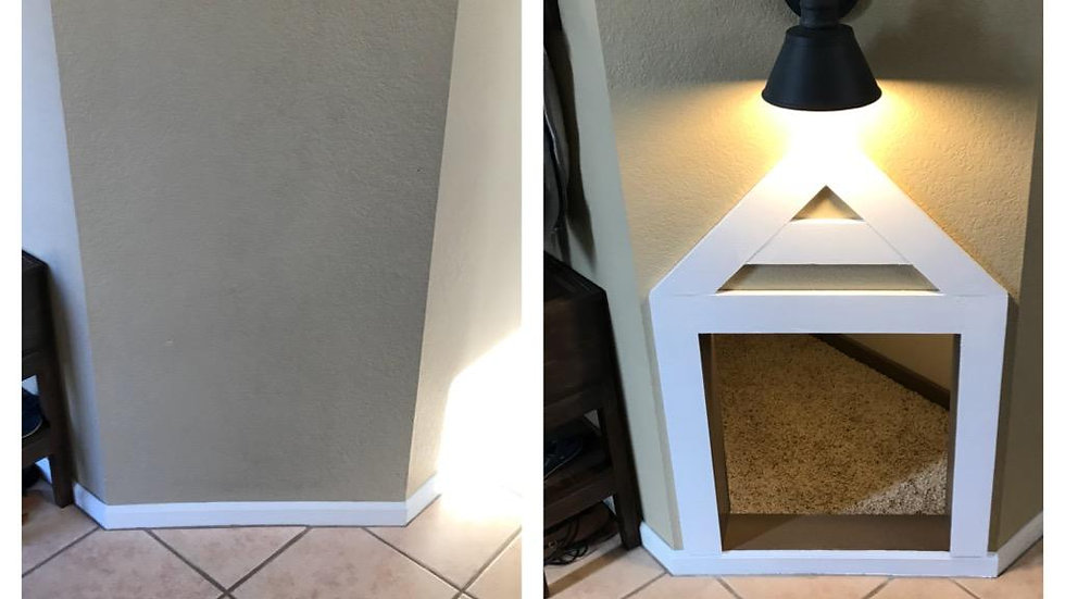 Under Staircase Dog House