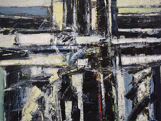 Elemental_No_39 75 x 100 cm acrylic on c