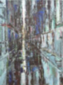Urbania_No_15 100 x 75 cm acrylic on can