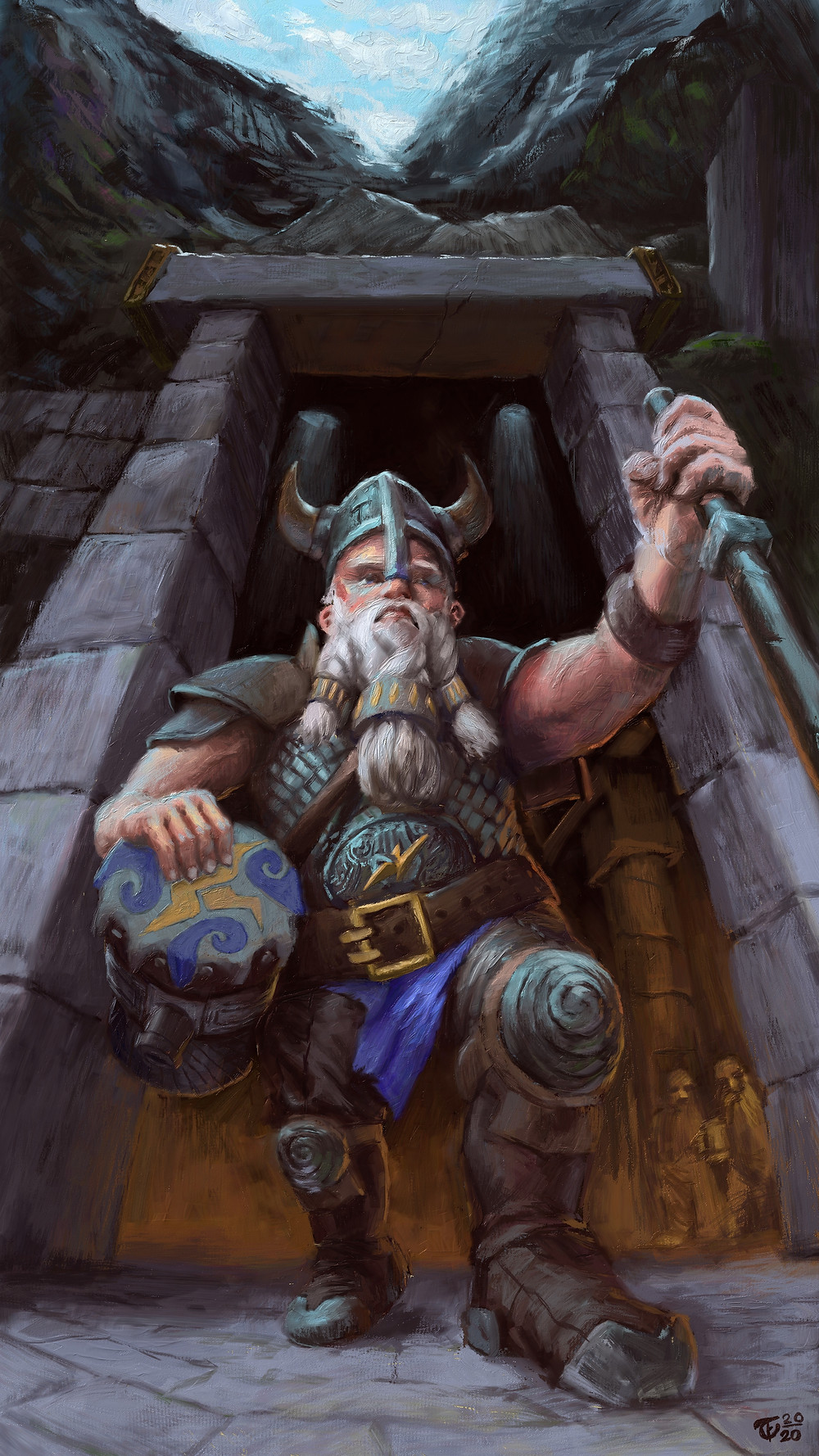 Dwarves are cool. They're all about ale, axes, and the pent-up rage of being bad-ass but also under 5 foot 5 inches. Thankfully I can't fully relate to their plight, but I am sympathetic nonetheless. Manlets rise up!