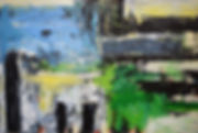 Elemental_No_31 100 x 150 cm acrylic on